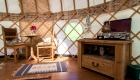 yurts glamping self catering holiday cornwall