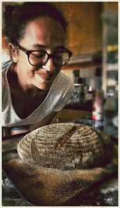Sourdough bread baking, organic food, workshop, courses