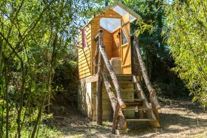 Tregonna King Yurt Private Compost Toilet