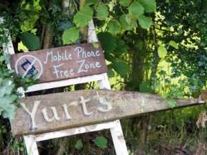 Digital Detox in the Yurt Field